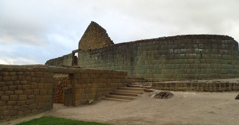 Templo del Sol Ingapirca Ecuador 07
