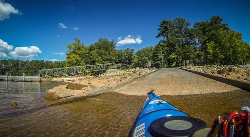 Paddling to Ghost Island in Lake Hartwell-109