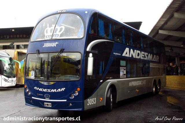 Andesmar (Primera Clase) | Santiago | Metalsur Starbus 2 - Scania / PIG053 - 3053