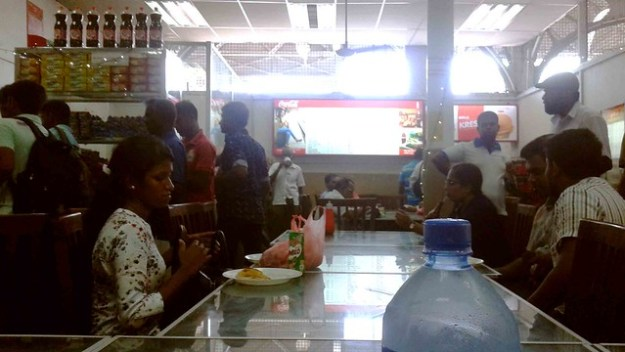 Colombo Fort Station Cafeteria