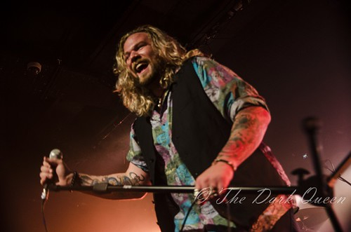 Nathan James of Inglorious, Belfast, July 2016
