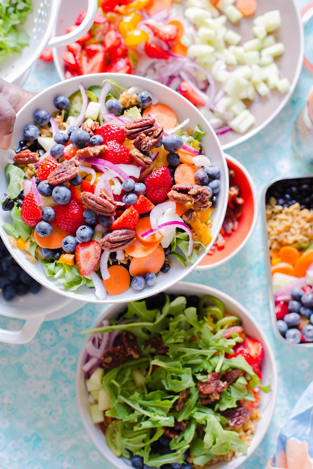 Summer Rice and Black Bean Salad