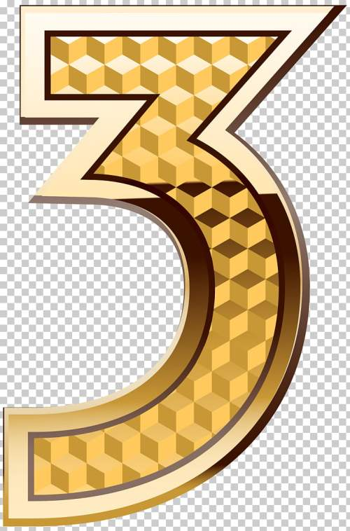 small resolution of aaron doral number four gold number three gold 3 png clipart