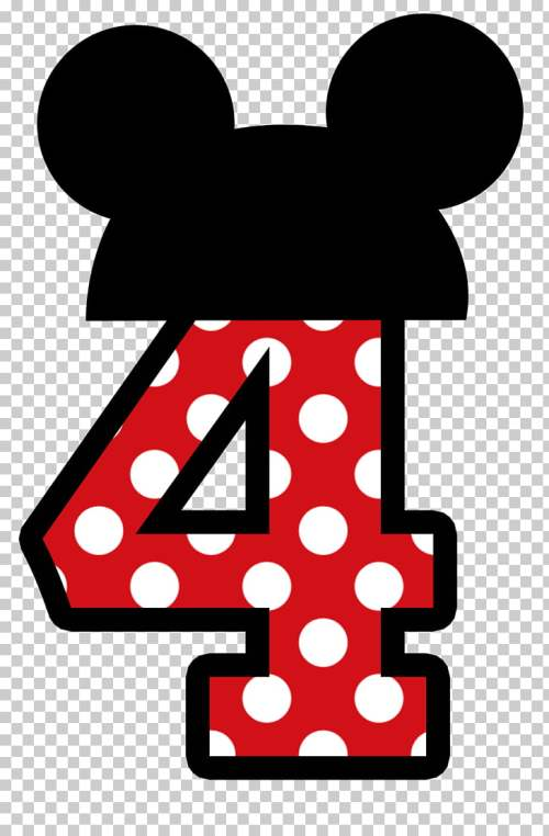 small resolution of mickey mouse minnie mouse no 1 red and white polka dot number