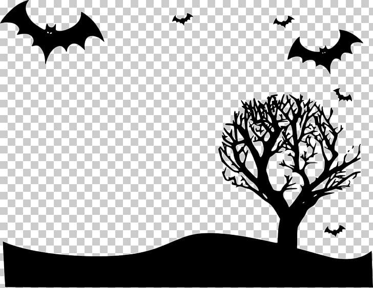 halloween frames branch invitation