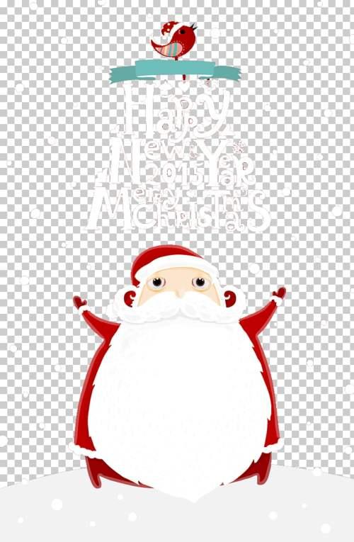 small resolution of santa claus christmas card gift christmas decoration fat santa claus png clipart