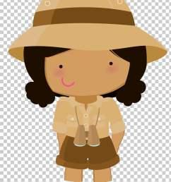 drawing safari safari girl png clipart [ 728 x 1206 Pixel ]