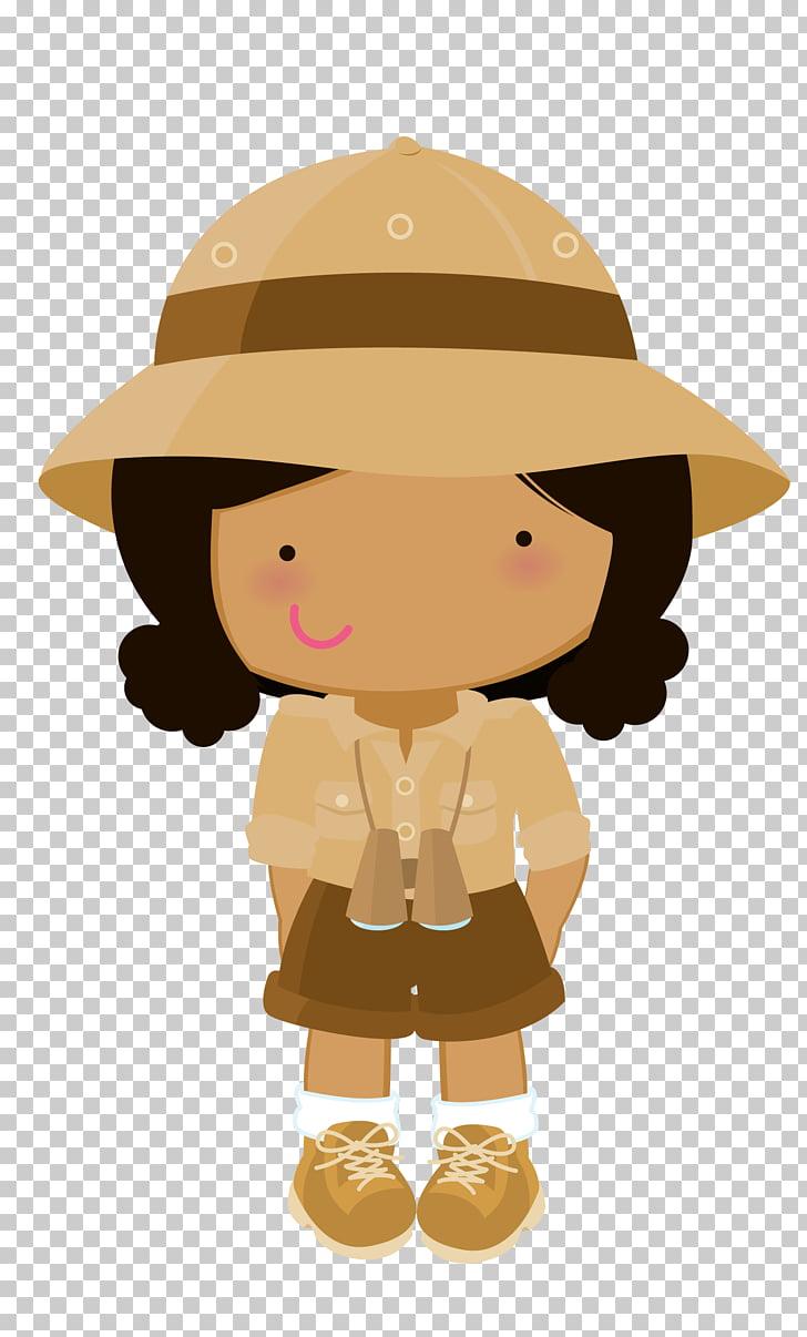 hight resolution of drawing safari safari girl png clipart