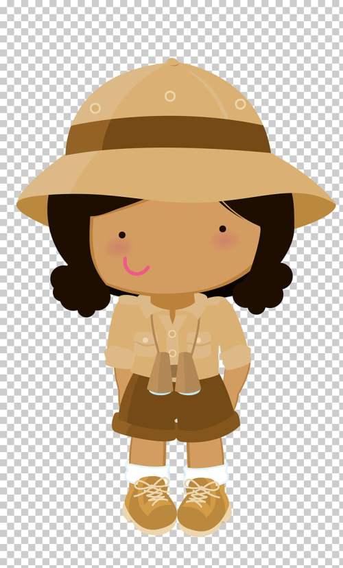 small resolution of drawing safari safari girl png clipart