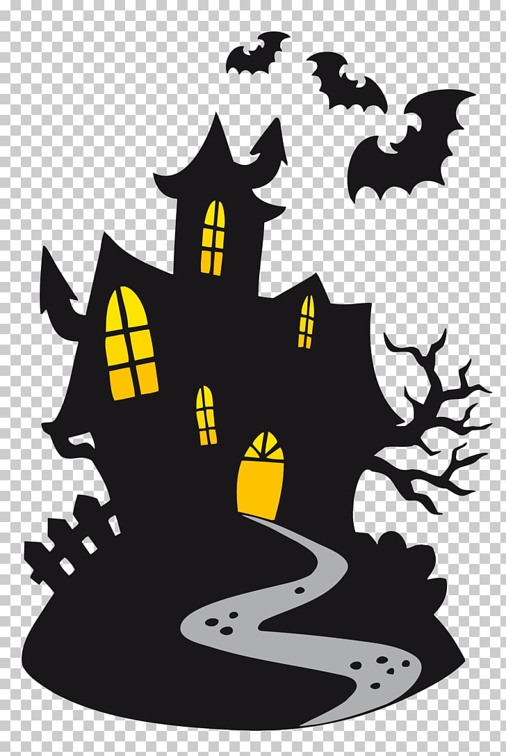 hight resolution of halloween cartoon ghost haunted castle black vampire castle png clipart