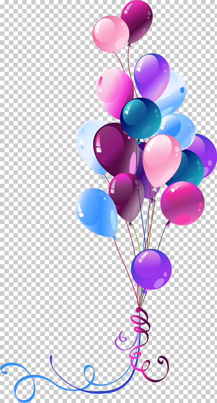 hight resolution of happy birthday to you balloon ballons assorted color party balloons png clipart