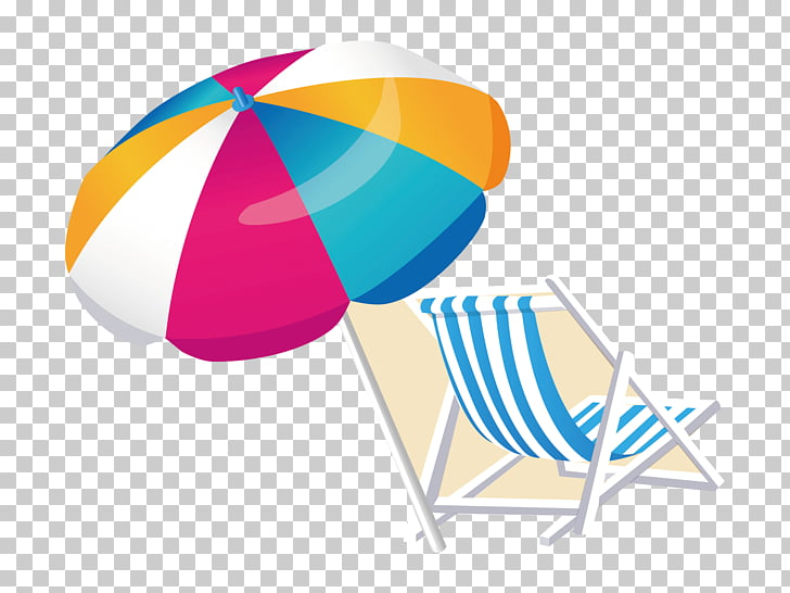 beach chair and umbrella clipart round back illustration chairs png free