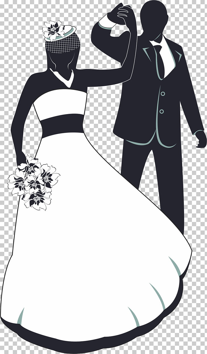 hight resolution of wedding invitation the bride and groom dancing png clipart