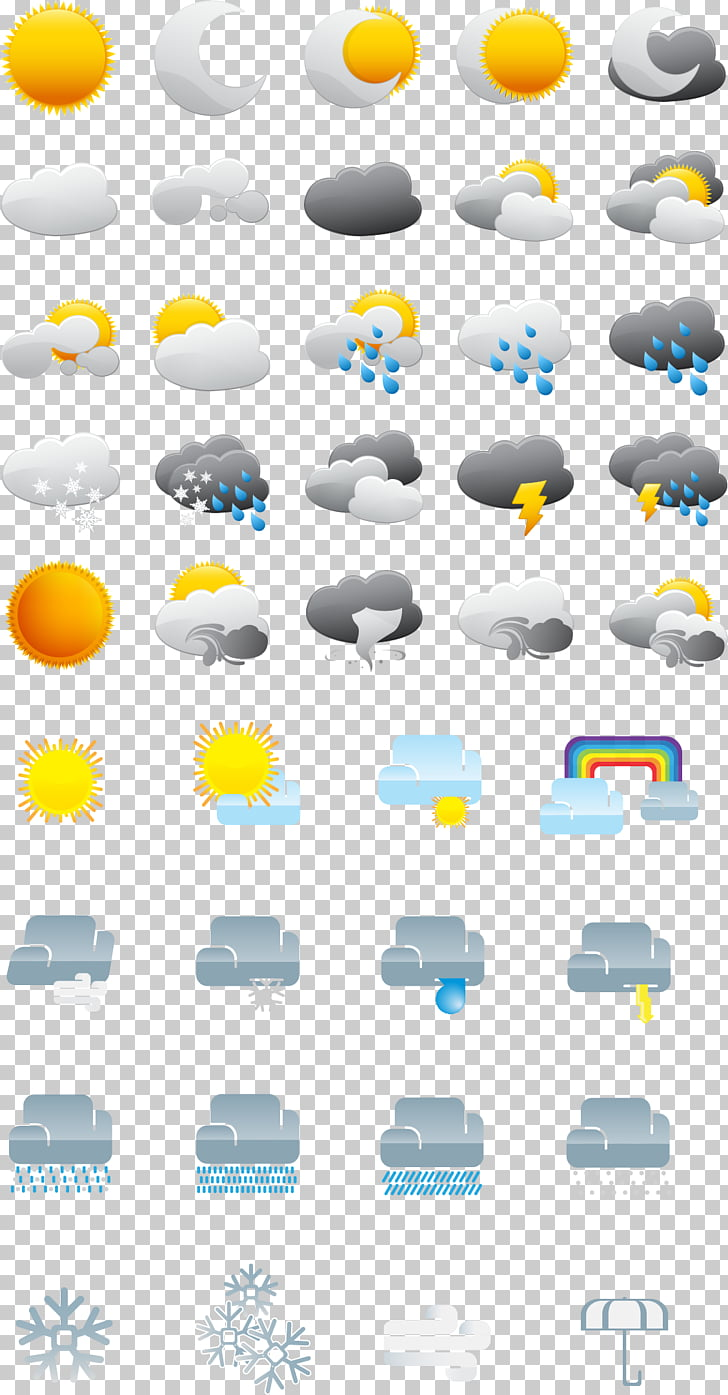 hight resolution of weather forecasting weather icon png clipart