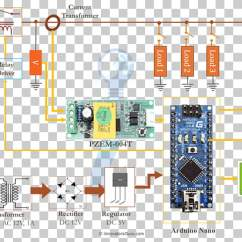 Electricity Meter Wiring Diagram 2000 Honda Prelude Stereo Arduino Electrical Wires Cable Circuit Png Clipart