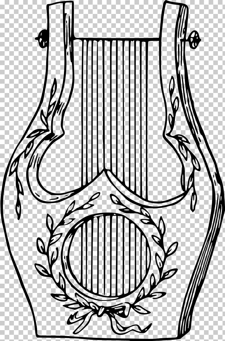medium resolution of musical instruments lyre drawing musical instruments png clipart