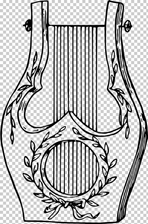 small resolution of musical instruments lyre drawing musical instruments png clipart