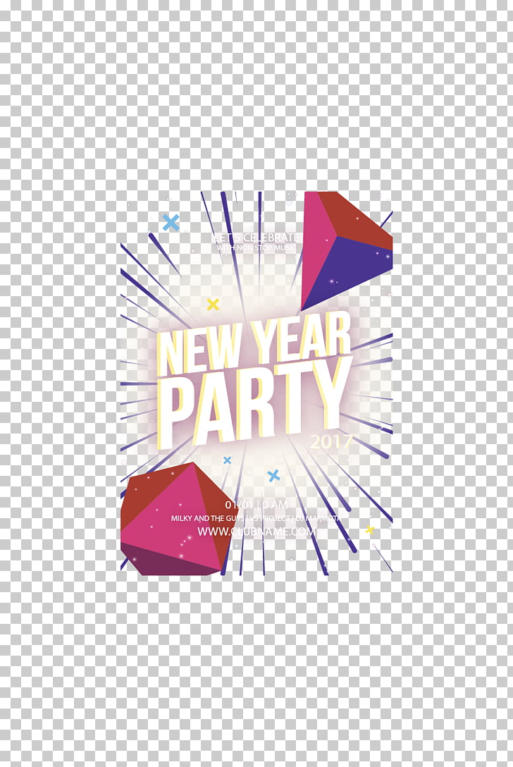 hight resolution of light poster new year ray emitting party poster png clipart