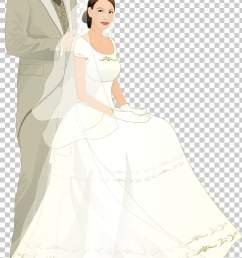 bridegroom wedding cartoon married couple bride and groom art png clipart [ 728 x 1179 Pixel ]