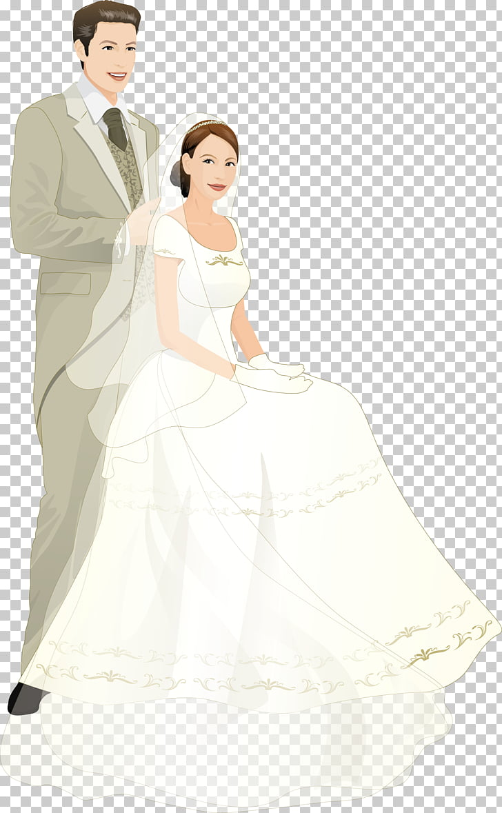 hight resolution of bridegroom wedding cartoon married couple bride and groom art png clipart