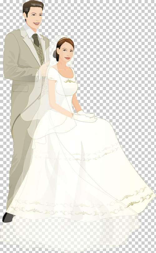 small resolution of bridegroom wedding cartoon married couple bride and groom art png clipart