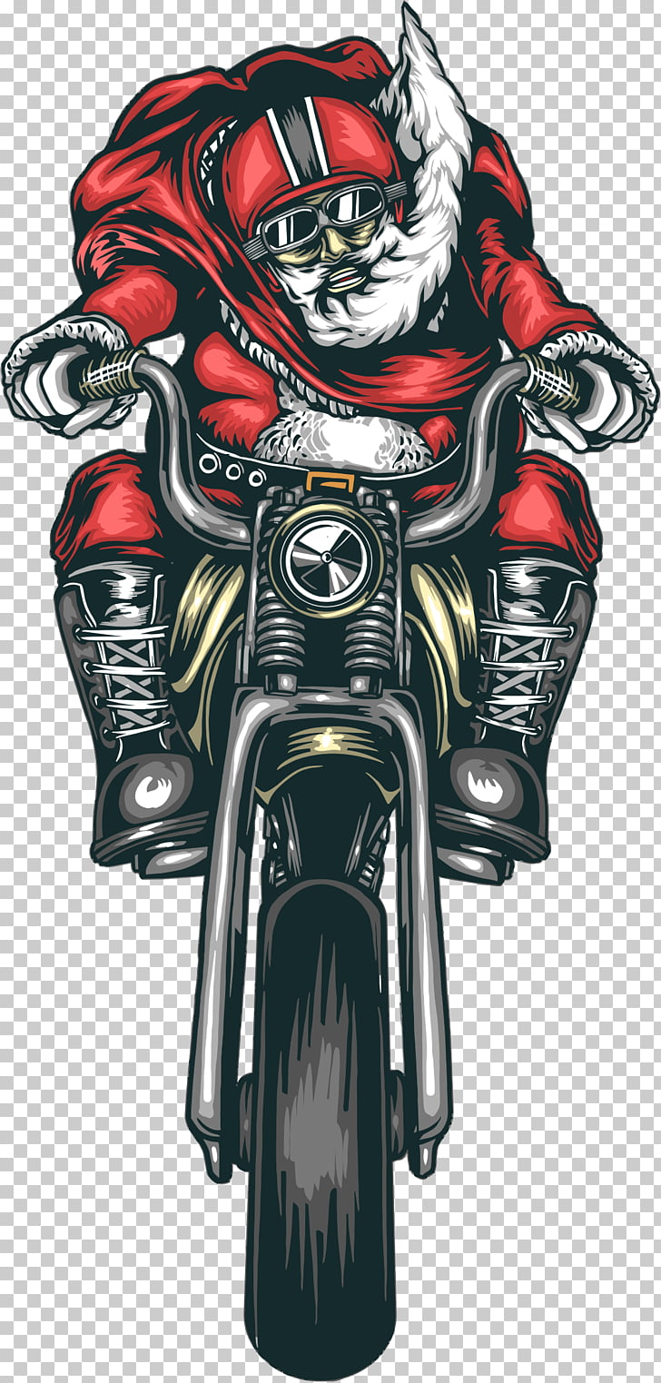 hight resolution of motorcycle accessories bmw harley davidson chopper saint nicholas man riding motorcycle png clipart