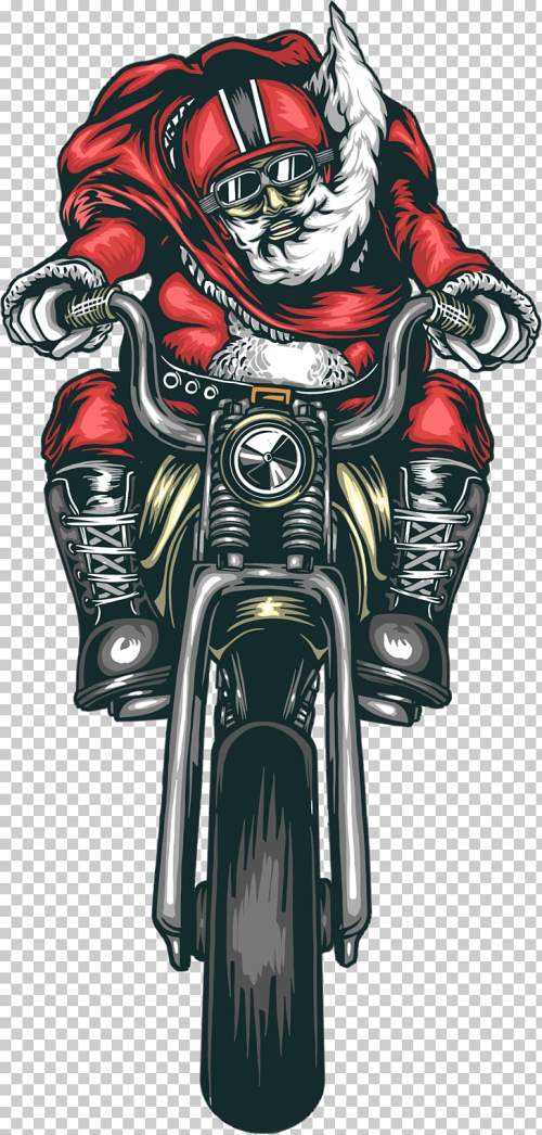 small resolution of motorcycle accessories bmw harley davidson chopper saint nicholas man riding motorcycle png clipart