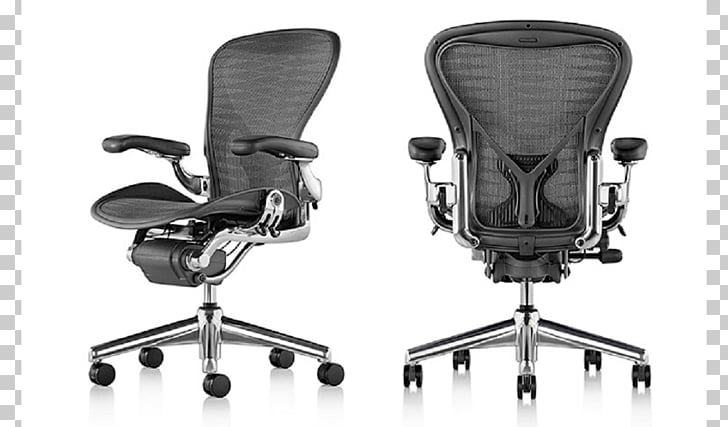 office chair herman miller oak kitchen table and chairs aeron desk png clipart