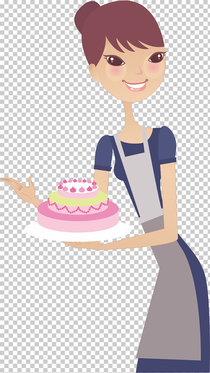 medium resolution of woman housewife mothers day end cake wife png clipart