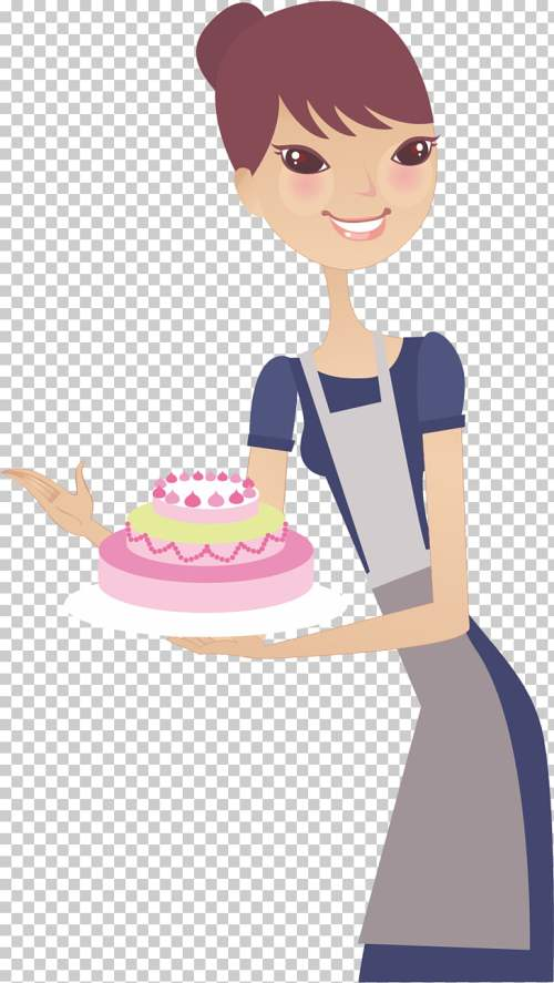 small resolution of woman housewife mothers day end cake wife png clipart