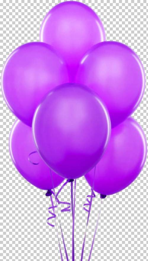 small resolution of balloon gold birthday party helium purple transparent balloons six purple balloons png clipart