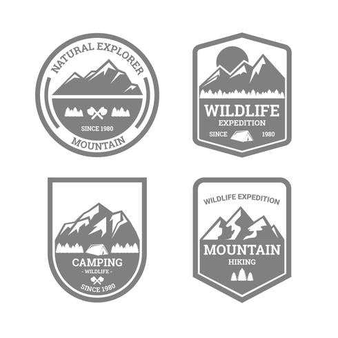 nature explorer badges svg