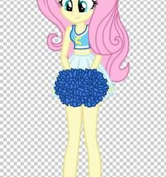 fluttershy pinkie pie applejack rarity rainbow dash cheerleader png clipart [ 728 x 1246 Pixel ]