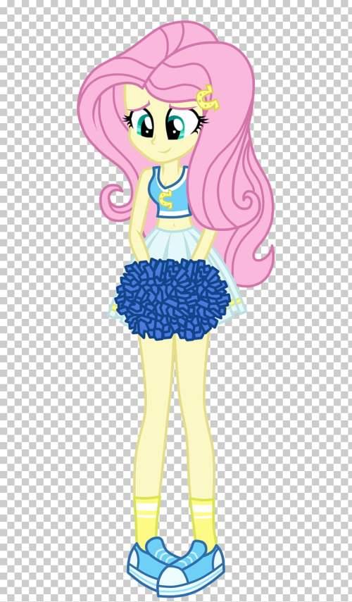 small resolution of fluttershy pinkie pie applejack rarity rainbow dash cheerleader png clipart