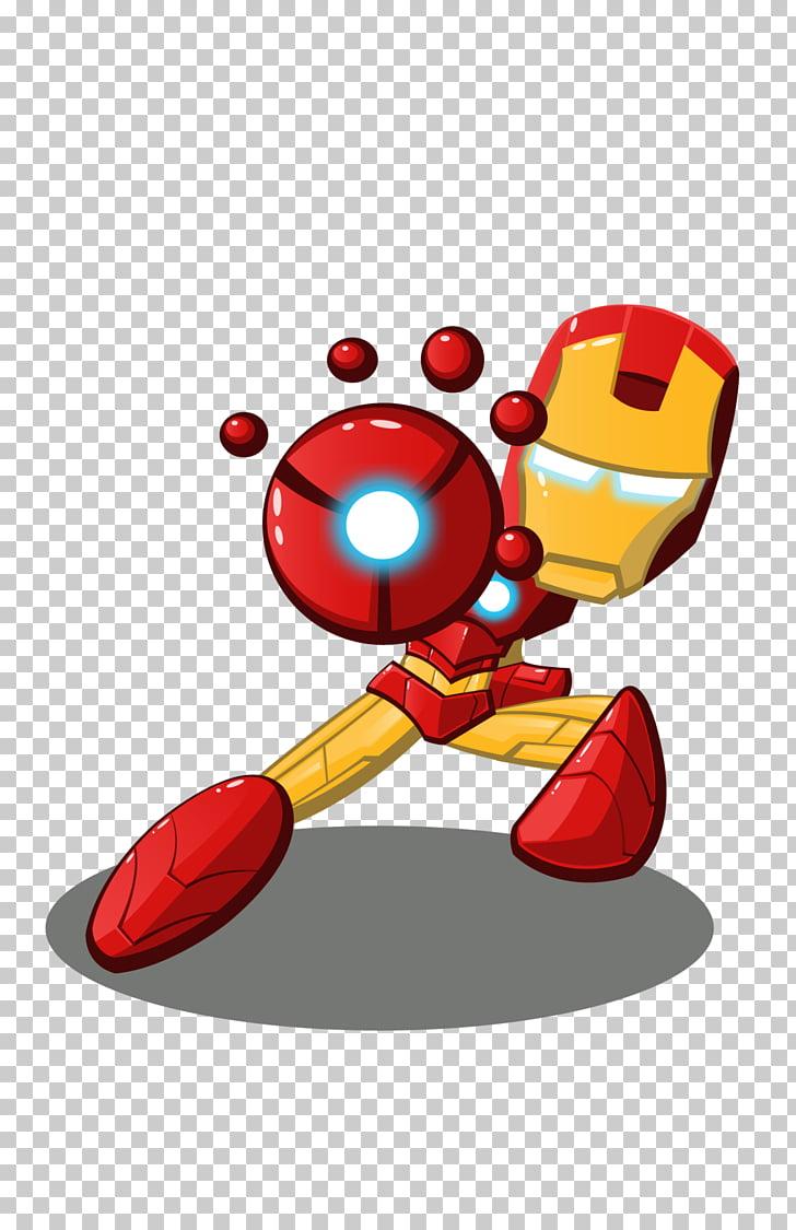 iron man logo decal