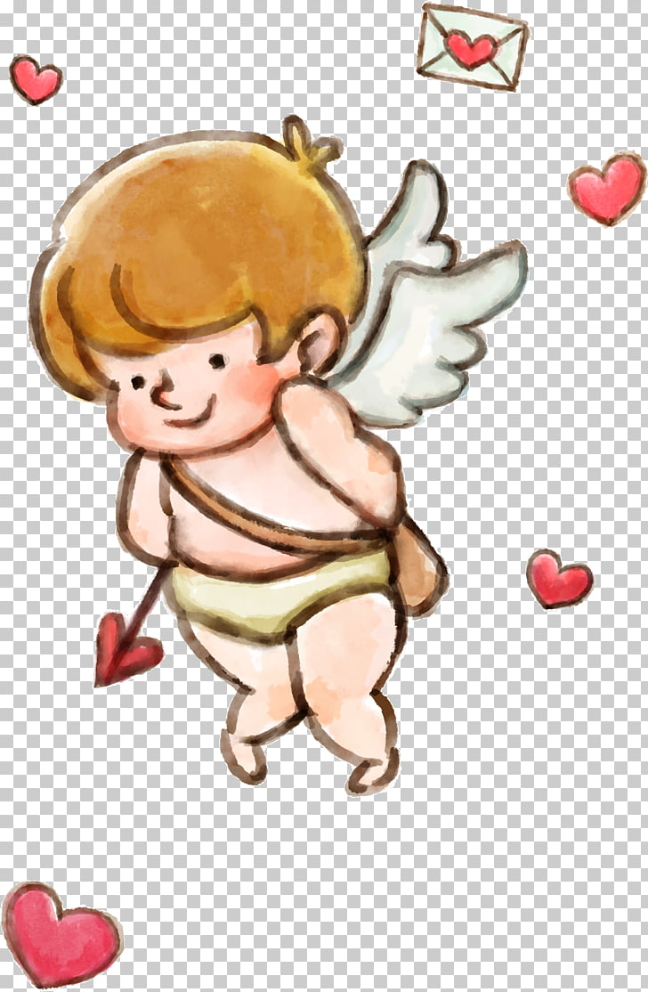 hight resolution of cupid valentines day love little angel png clipart