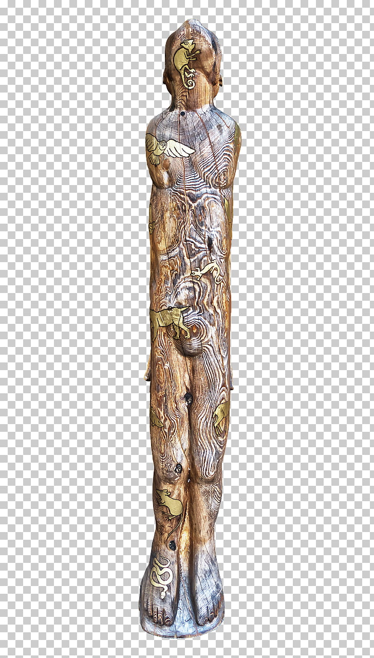 hight resolution of sculpture wood carving totem pole wood png clipart