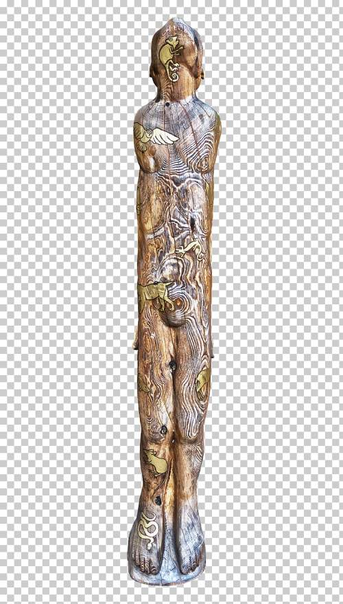 small resolution of sculpture wood carving totem pole wood png clipart