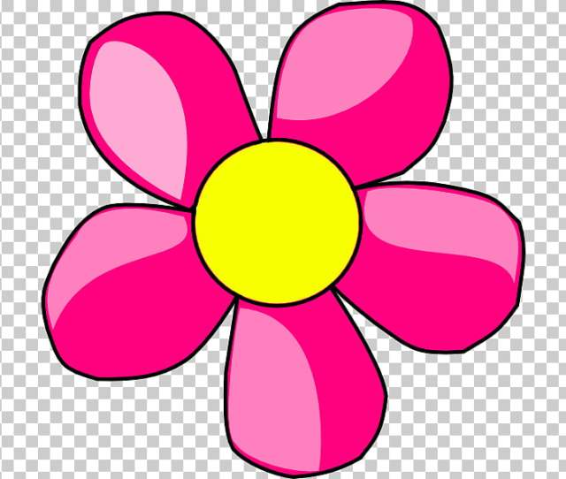Cartoon Flower Bunga Png Clipart Free Cliparts Uihere