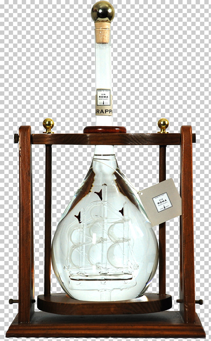 hight resolution of liqueur glass bottle grappa wine sailing ship wine png clipart