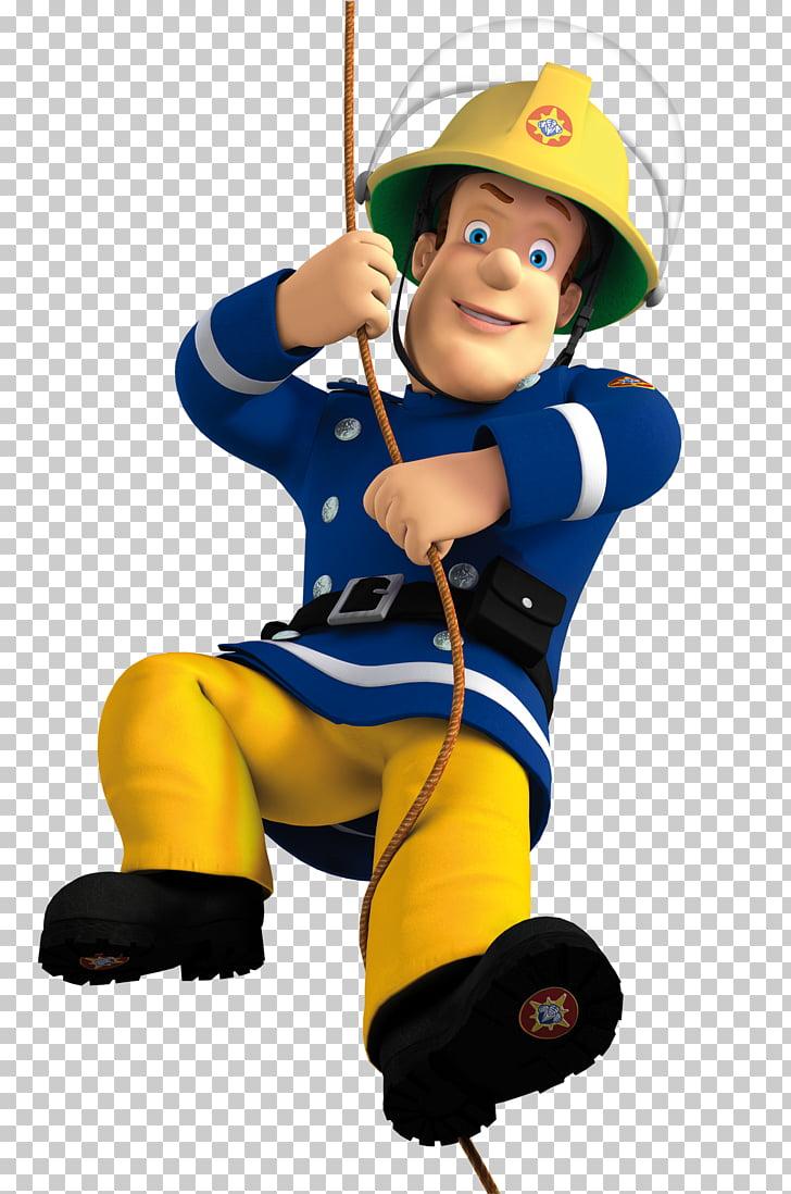 hight resolution of fireman sam firefighter fire department animation film fireman man wearing yellow pants illustration png