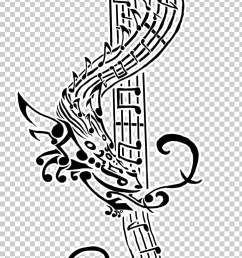 tattoo musical note art flash treble clef png clipart [ 728 x 1274 Pixel ]