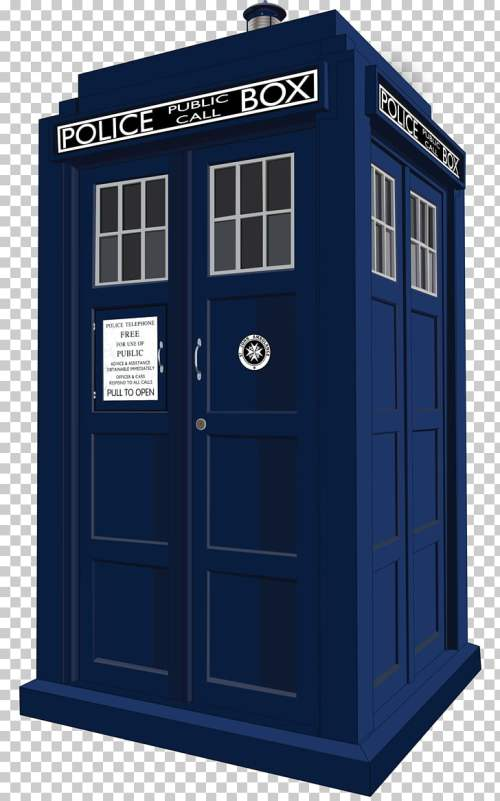 small resolution of doctor who season 11 twice upon a time police box art blue box png clipart