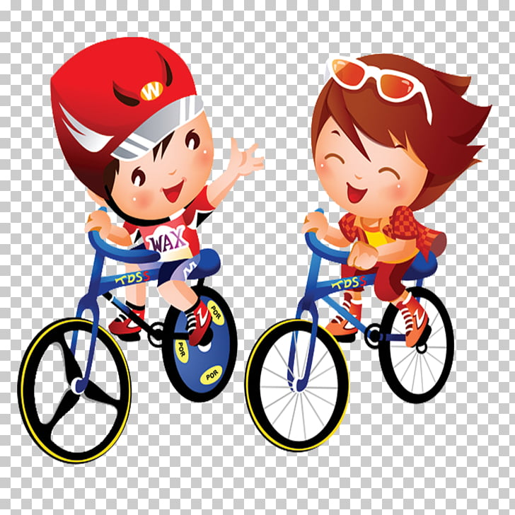 2 218 cartoon bicycle