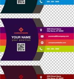 business card color adobe illustrator gradient color business card three assorted color illustrations [ 728 x 1344 Pixel ]