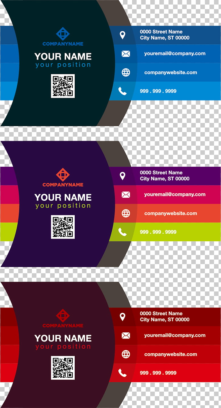 medium resolution of business card color adobe illustrator gradient color business card three assorted color illustrations