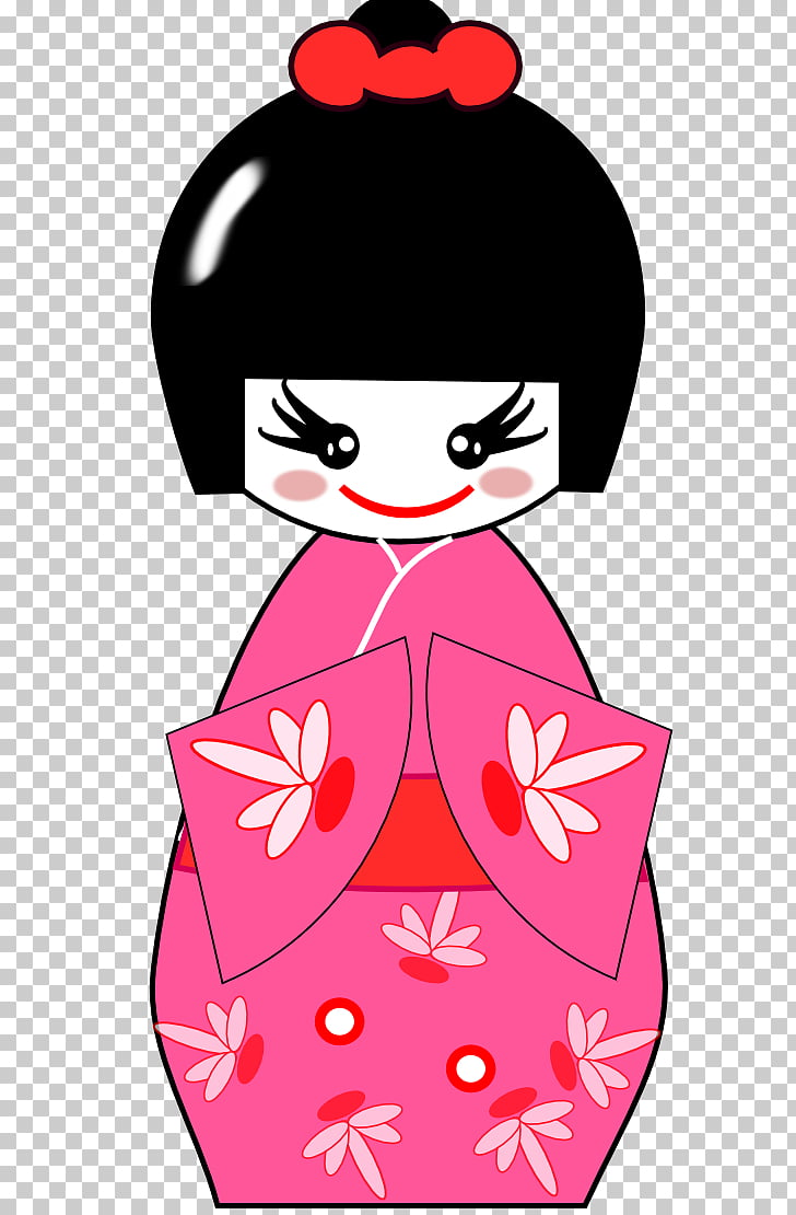hight resolution of japanese dolls kokeshi doll s png clipart