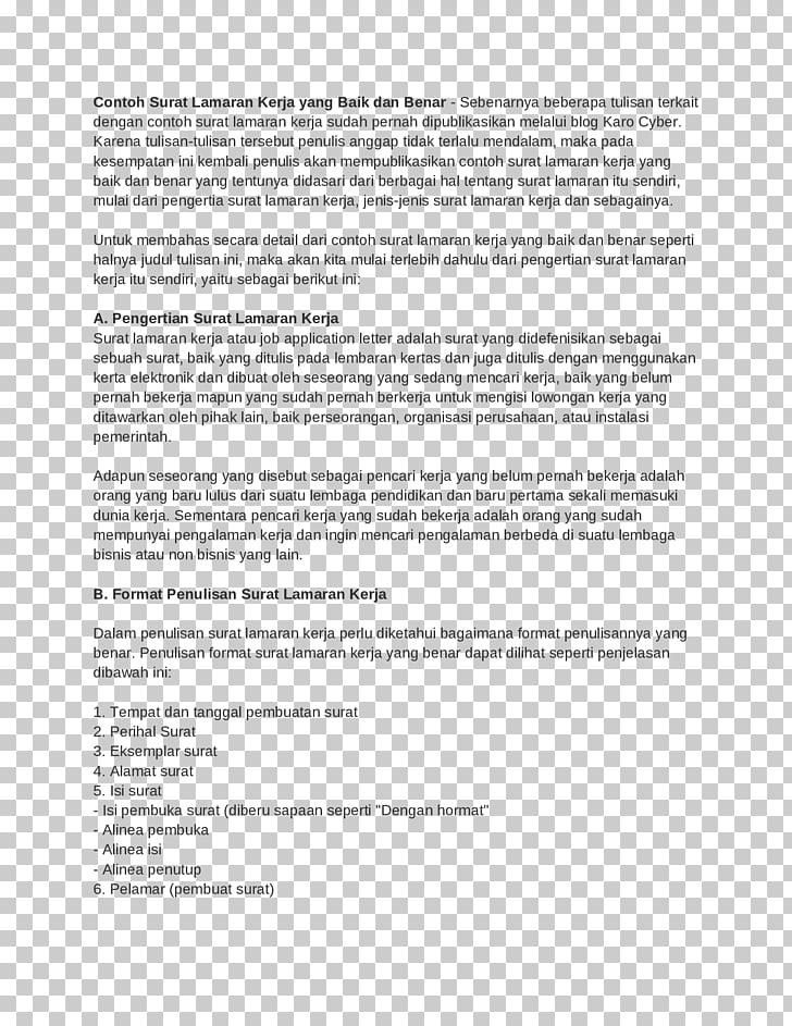 Resume Letter Adalah HHRMA Job Career
