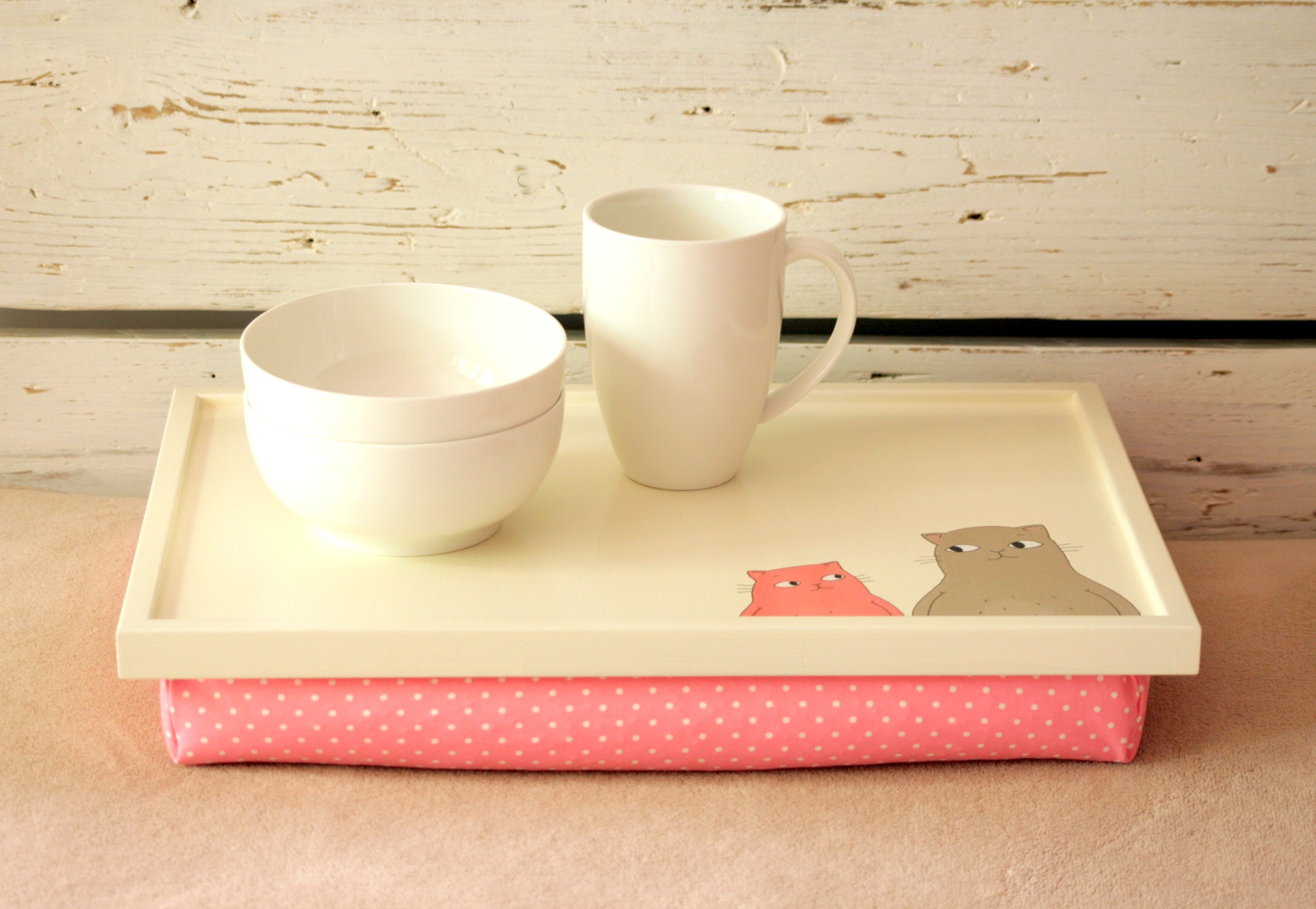 Laptop Lap Desk Or Breakfast Serving Tray  Hand Painted