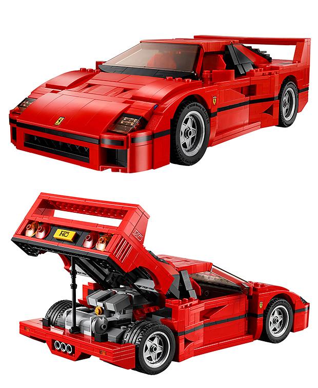 LEGO Creator Ferrari F40 at werd.com